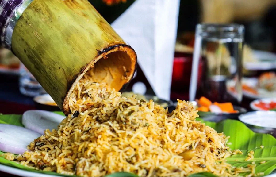 Bamboo Biryani Recipe: The Subcontinent Food
