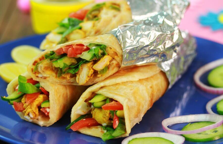 Mutton Kathi Roll Recipe